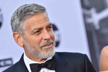Se compartió la primera imagen de la nueva película de George Clooney ¡y está irreconocible!