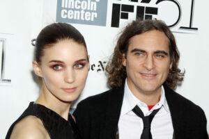 Joaquin Phoenix y Rooney Mara fueron padres de un niño: se llama River