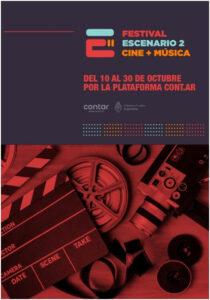 Se viene el Festival Escenario 2, el evento de cine y música más grandes del país, y es gratuito