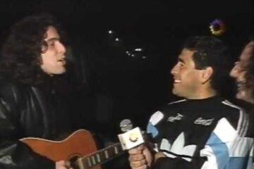 Maradona y Calamaro