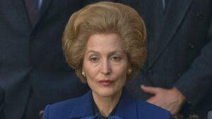 Gillian Anderson interpreta a Margaret Thatcher en la cuarta temporada de The Crown