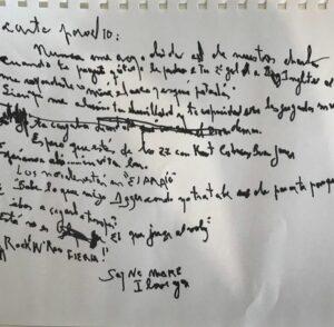 """""""¿Qué título le pondrías a tu 2do gol a Inglaterra?"""", la carta de despedida de Charly García a Maradona"""