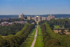 El castillo de Windsor uno de los lugares donde se rodó la serie.
