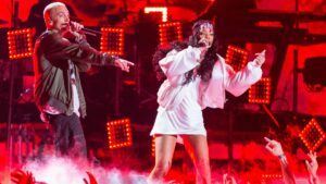 """Eminem se disculpó con Rihanna: """"De todo corazón: disculpas, Rihanna"""""""