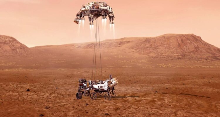 El Perseverance llegó a Marte e hizo historia